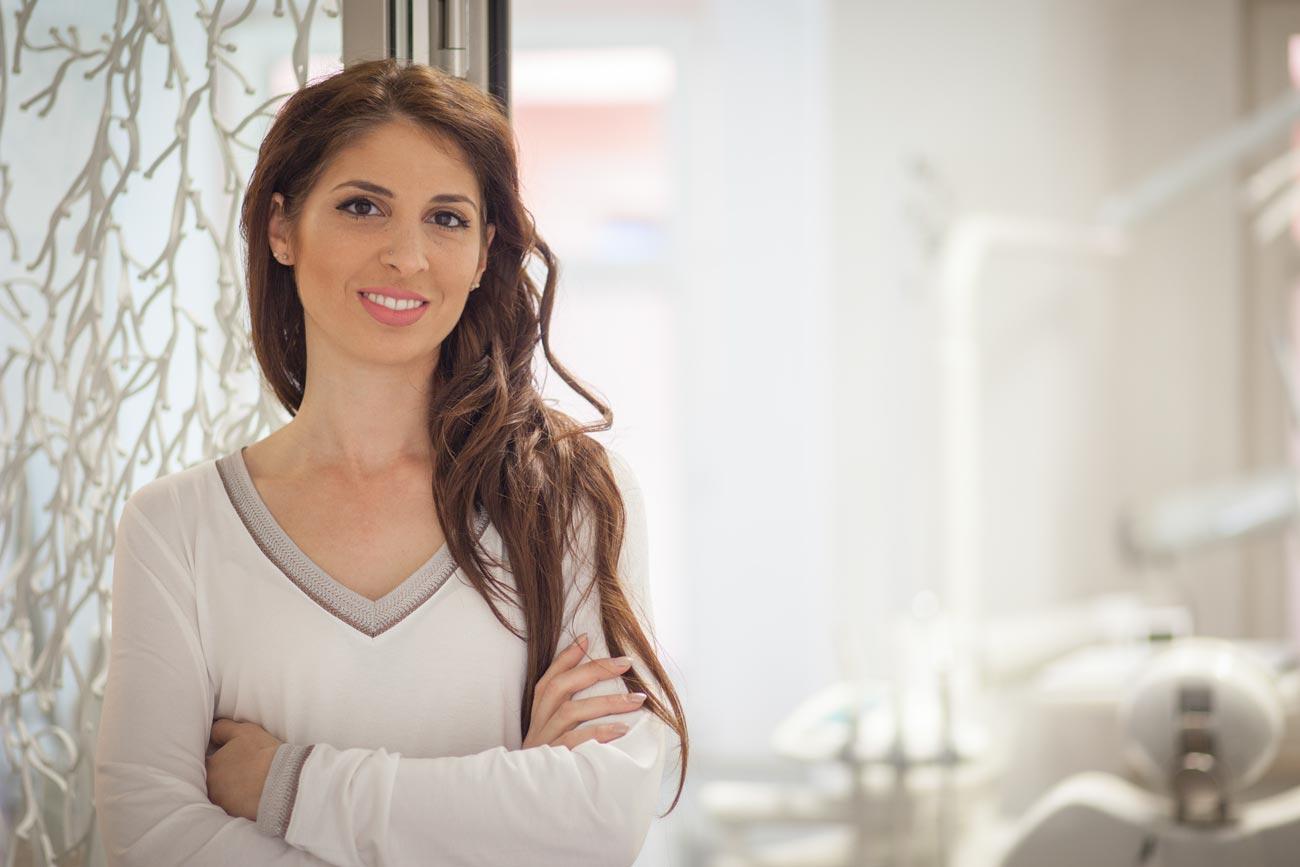 Zahnärztin Angela Zelka